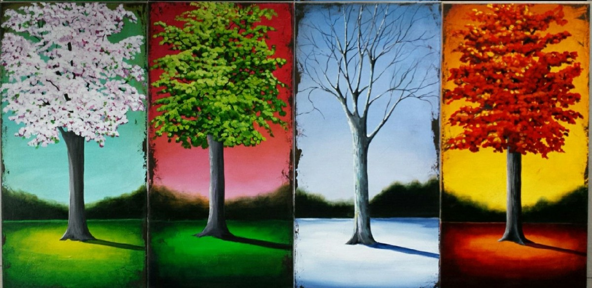 Artists Who Paint Four Seasons