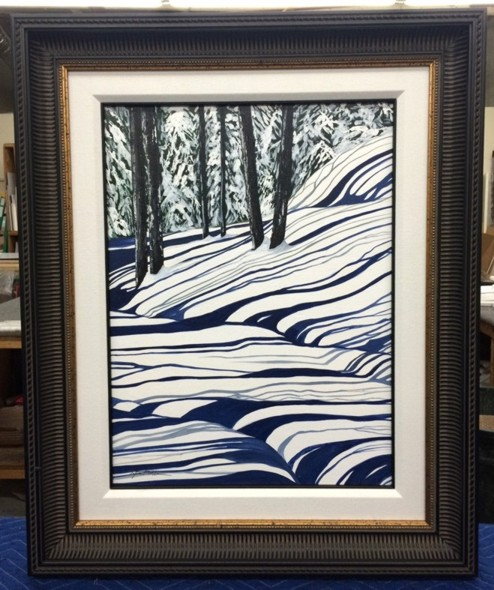 Tina Palmer - SNOW WONDER original painting
