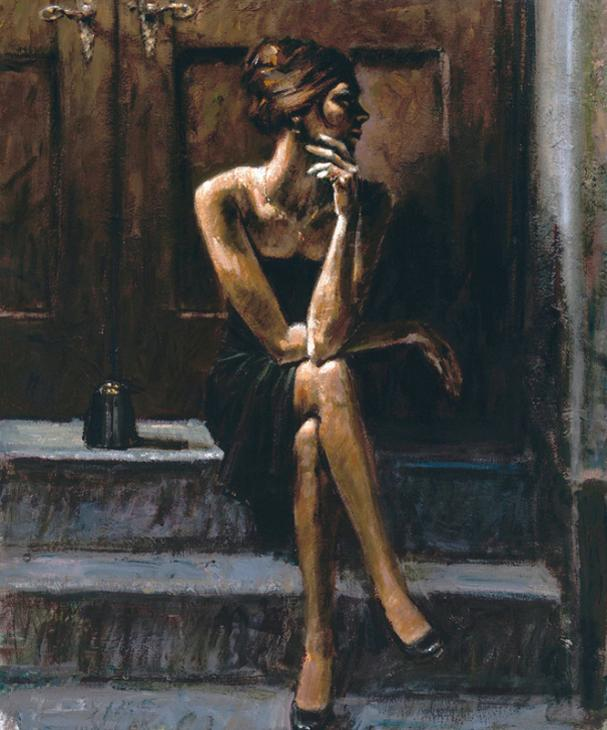 Fabian Perez - Black Purse