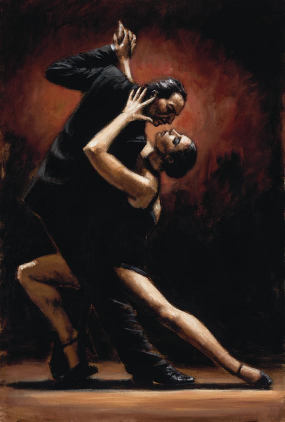 Fabian Perez - Love of Tango