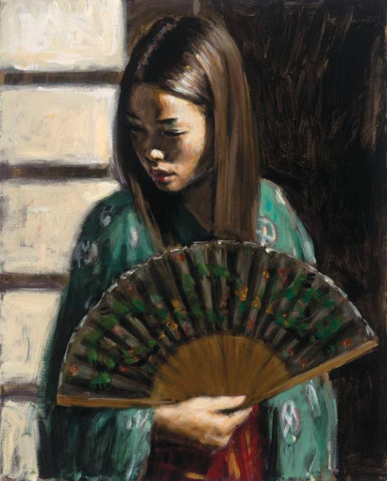 Fabian Perez - Study for Japanese Girl 3