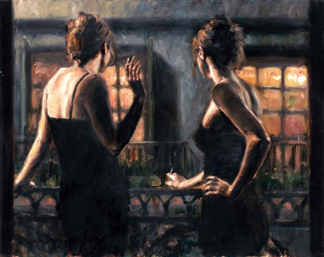 Fabian Perez - Cenisientas of the Night