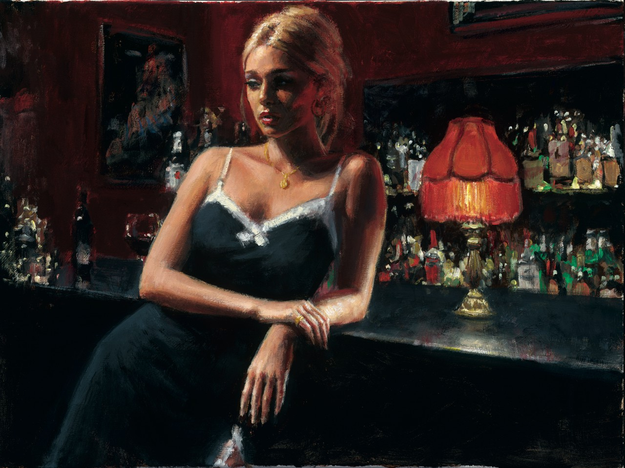 Fabian Perez - English Rose VIII