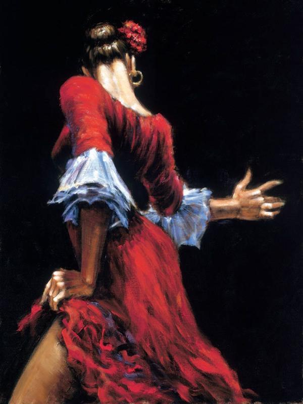 Plesno slikarstvo! - Page 2 Flamenco-dancer3
