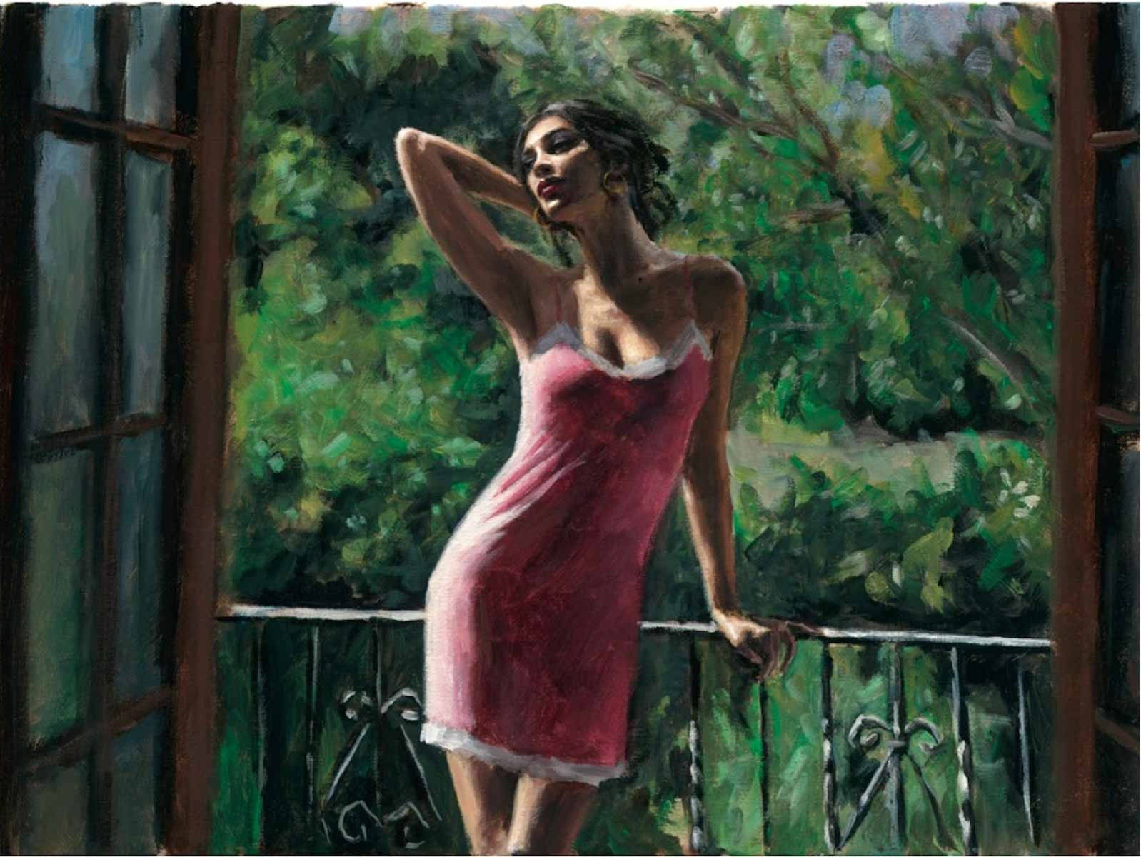 Fabian Perez - Like a Cat III Signed and Numbered Limited Edition