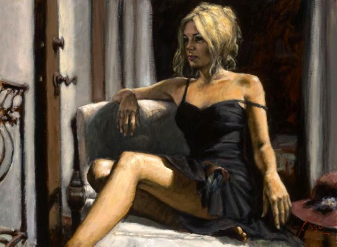 Fabian Perez - The Red Hat