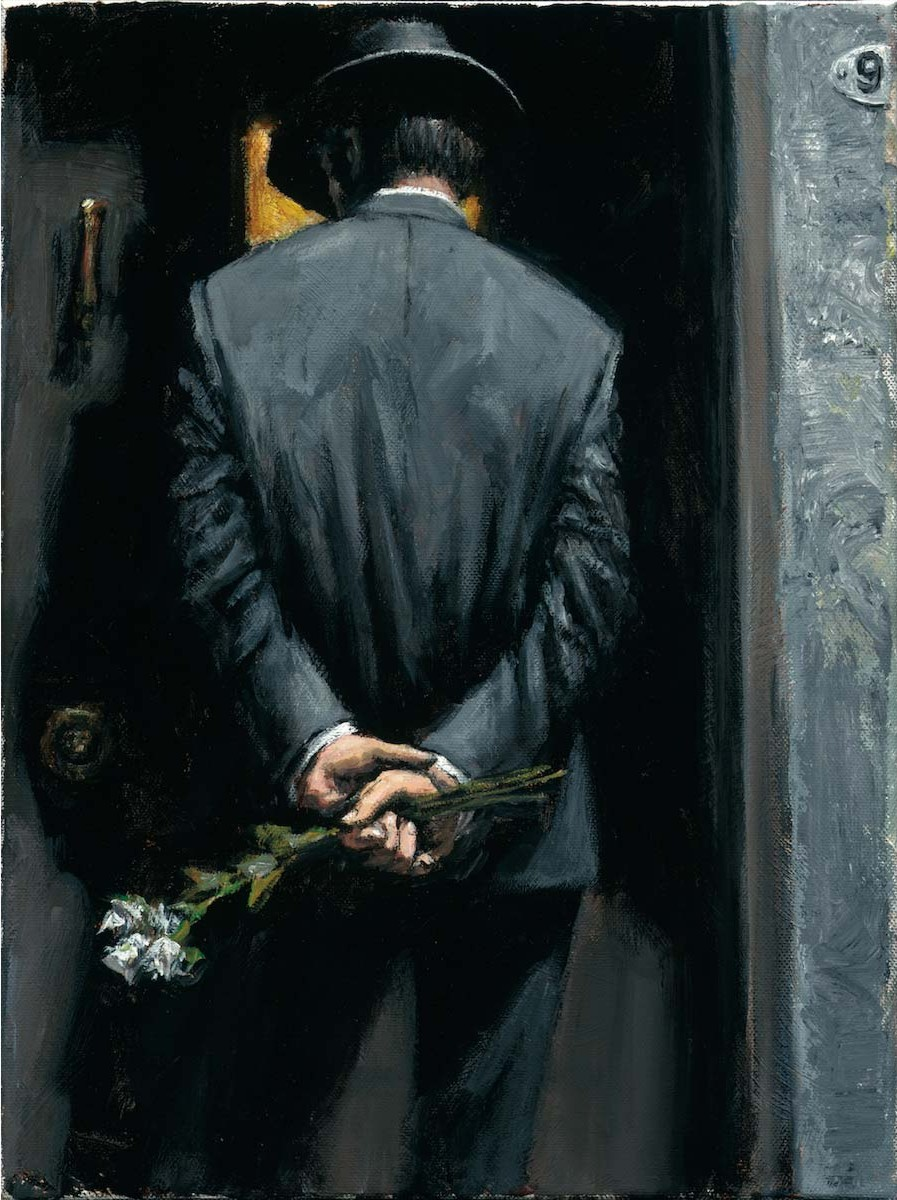 Fabian Perez - Surprise at Moonlight