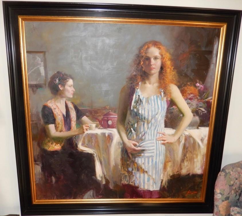 Pino Daeni Pino Art Amp Original Paintings For Sale