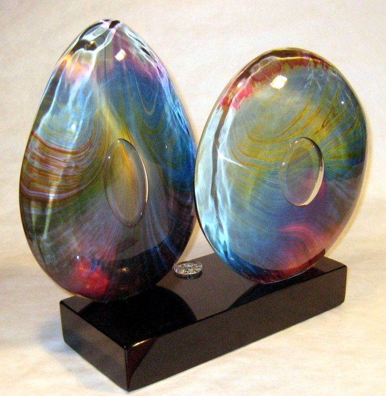 Dino Rosin - Calcedonis Glass Sculpture