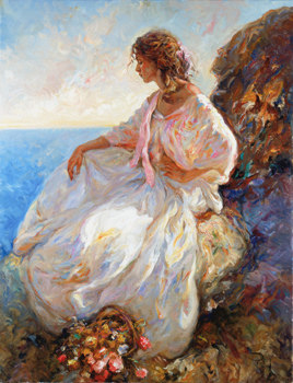 Contemplacion Fine Art by Jose Royo