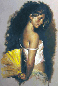 Despues Del Baile Fine Art by Jose Royo