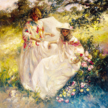 EN EL CAMPO Fine Art by Jose Royo