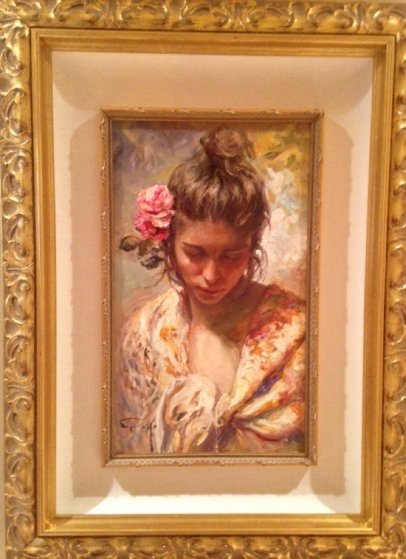 Saggitus Original Oil on Canvas Painting Fine Art by Jose Royo