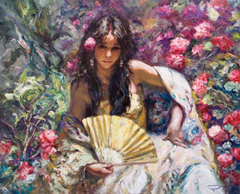 Jose Royo - Moreno -  Serigraph on Panel