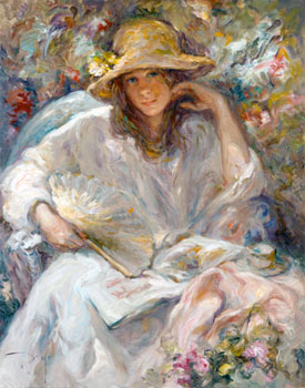 SOL Y SOMBRA Fine Art by Jose Royo - Serigraph on Panel
