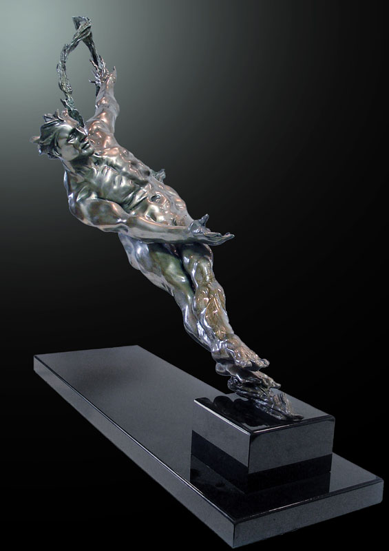 M.L. Snowden - Ion Bronze Sculpture