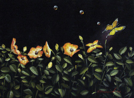 Glen Tarnowski - BLOOM 13 x 18 Original Oil on Canvas