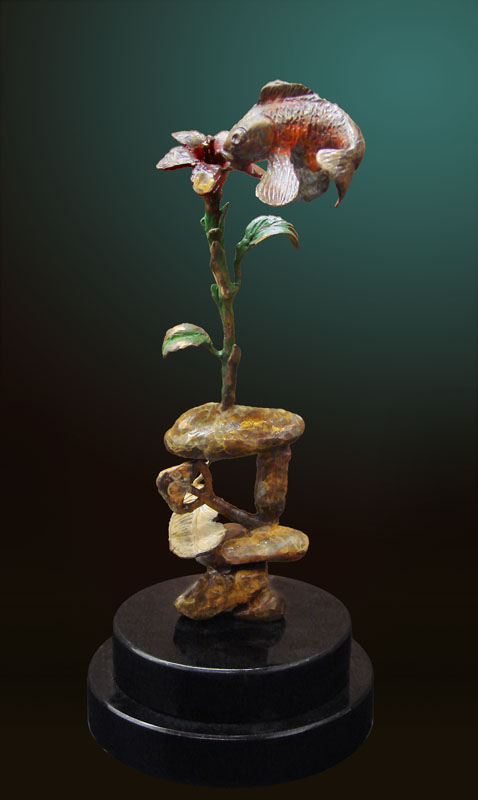 Glen Tarnowski - sculpture - Against All Odds