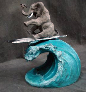 Glen Tarnowski - sculpture - Riding High 2