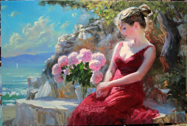 Image result for Vladimir Volegov . Sketch. oil on canvas 30x40cm Images