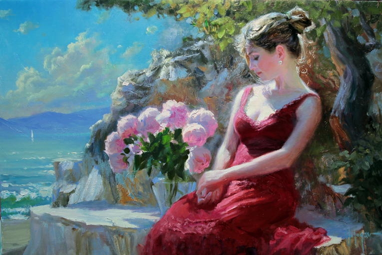 Vladimir Volegov - By the sea shore