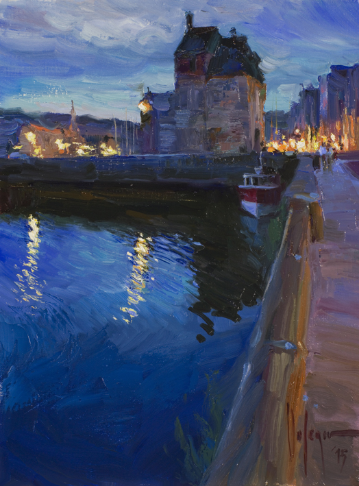 Vladimir Volegov - Honfleur Late evening