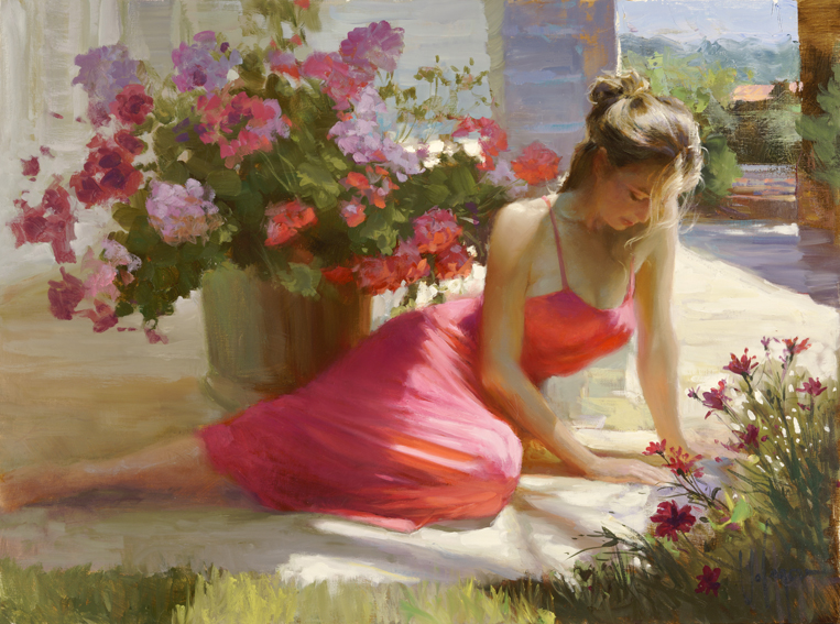 Vladimir Volegov - In the Shadow with Flowers