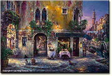 EVENING IN VENICE  by Cao Yong
