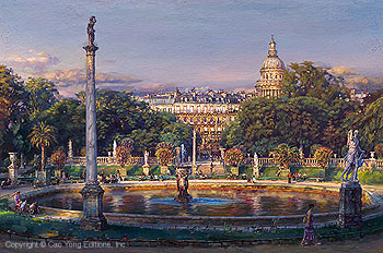 The Luxembourg Garden II: La Fountaine  by Cao Yong