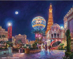 PARIS, LAS VEGAS  by Cao Yong