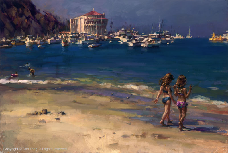 Summer in Catalina by Cao Yong