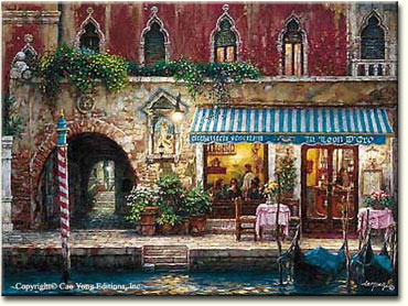 VENICE'S NIGHTS by Cao Yong